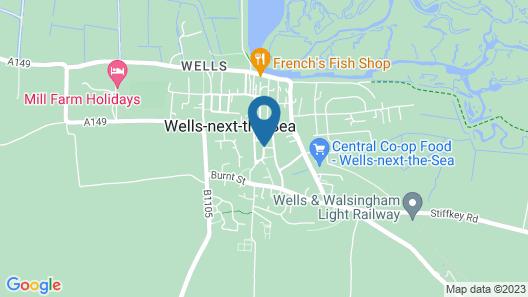 The Globe Inn Hotel Map