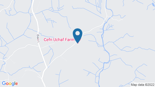 Cefn Uchaf Guesthouse Map