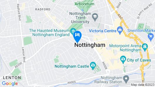 SACO Nottingham - The Ropewalk Map