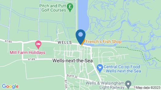 Platten's Apartments Map
