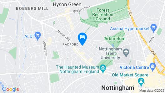 Trivelles Regency Nottingham Map