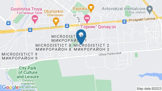 Triumph Hotel Map
