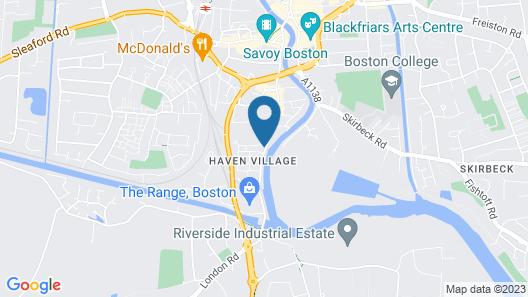 Quayside Hotel & Bar Map