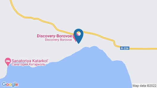 Discovery Borovoe Map