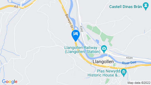 Wild Pheasant Hotel & Spa, BW Signature Collection Map