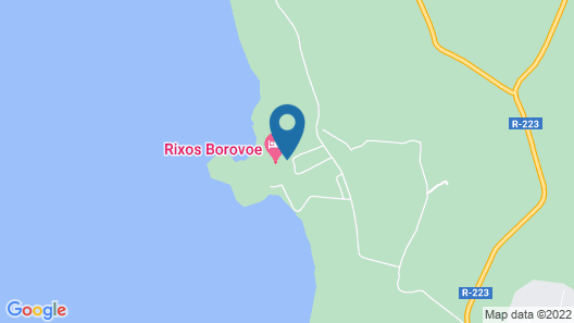 Rixos Borovoe Map