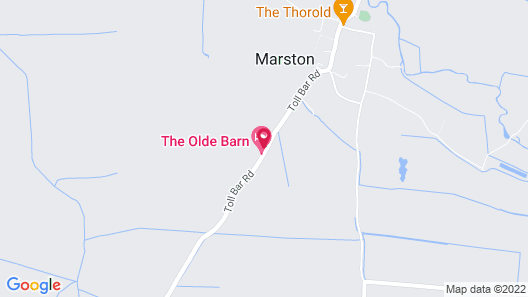 The Olde Barn, Sure Hotel Collection by Best Western Map