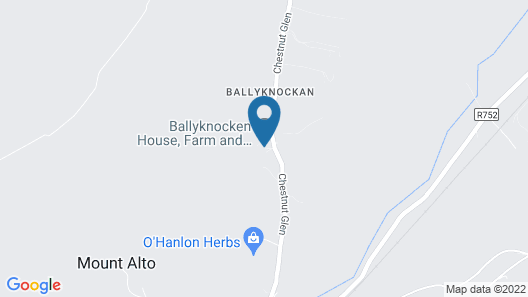 Ballyknocken House and Cookery School Map