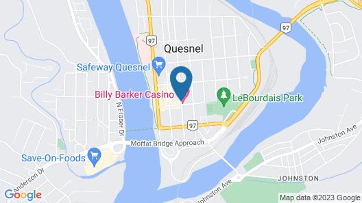Billy Barker Casino Hotel Map