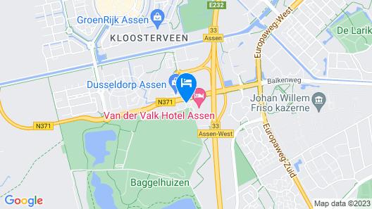 Van der Valk Hotel Assen Map