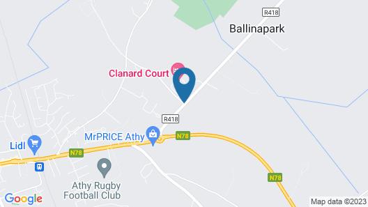 Clanard Court Map