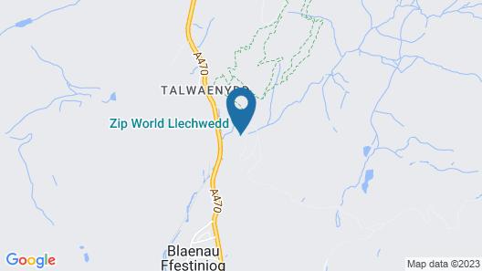 Plas Weunydd Map