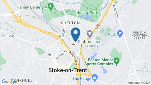 North Stafford Britannia Map