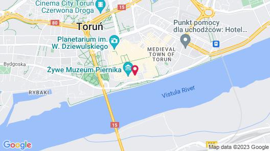 Hotel Gromada Map