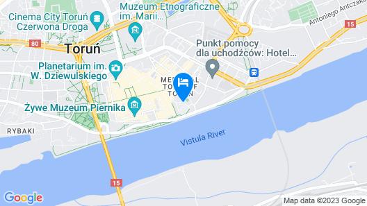 Hotel 1231 Map