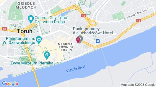 Hotel Kopernik Map