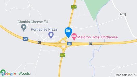 Maldron Hotel Portlaoise Map