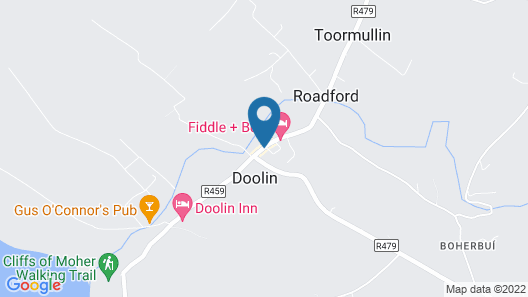 Hotel Doolin Map