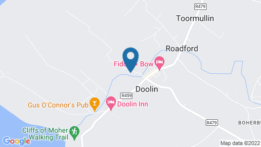 O'connors Guesthouse Map