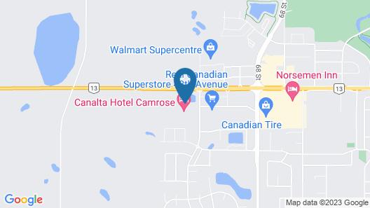 Ramada by Wyndham Camrose Map