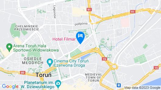 Hotel Filmar Map
