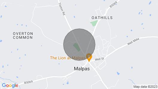 Wattle Cottage Map
