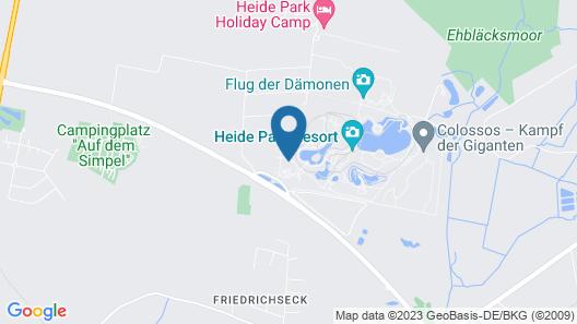 Heide Park Abenteuerhotel Map