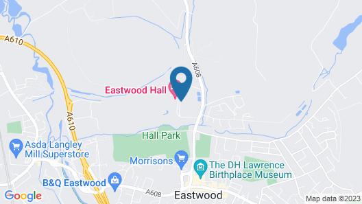 Eastwood Hall Map
