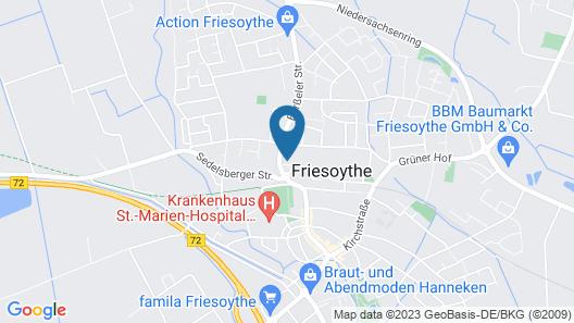 City-Hotel-Friesoythe Map