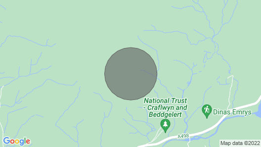 Sygun View, Beddgelert Map