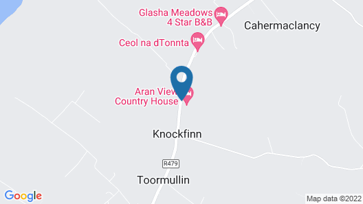 Aran View Country House  Map