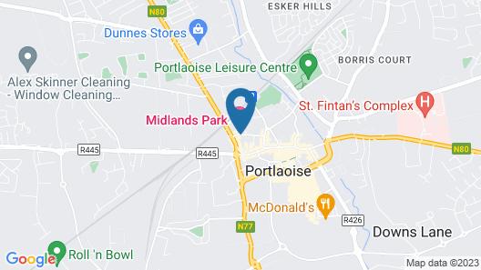 Midlands Park Hotel Map