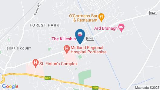 The Killeshin Hotel Map