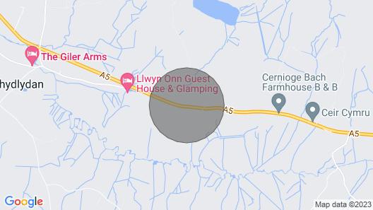 5 Ceirnioge Cottages Map