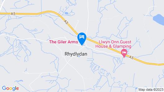 Y Giler Arms Map