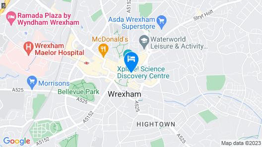 Wynnstay Arms, Wrexham by Marston's Inns Map