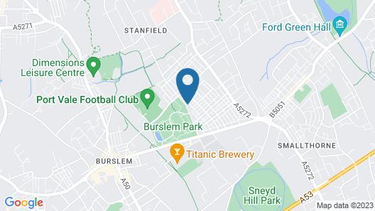 Big Double Room Near City Centre Map