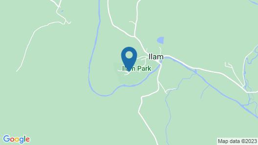 YHA Ilam Hall - Hostel Map