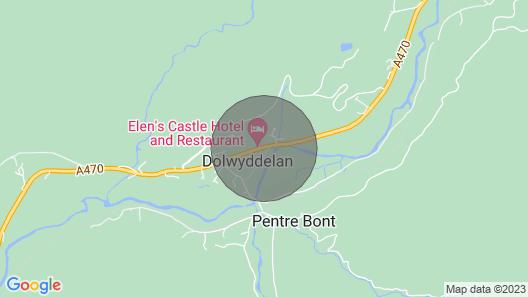 Elen's Cottage, Dolwyddelan Map