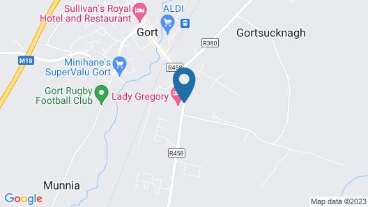 Lady Gregory Hotel & Swan Leisure Club Map