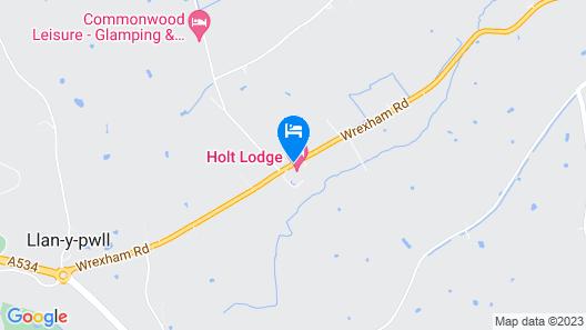 Holt Lodge Hotel Map