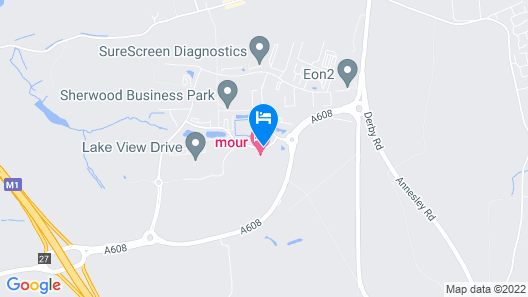mour Hotel Map