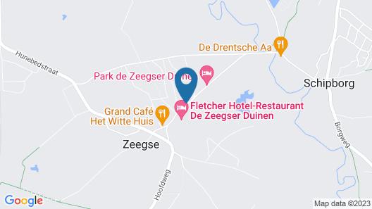 Fletcher Hotel-Restaurant De Zeegser Duinen Map