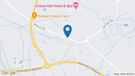 Crewe Hall Map