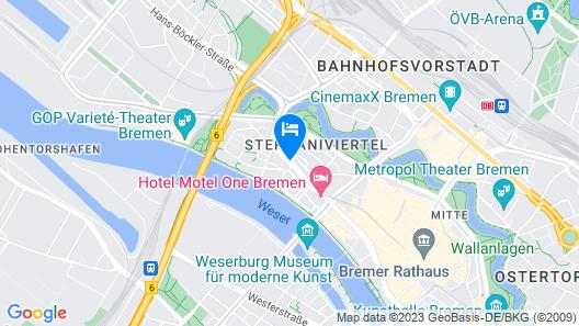 ibis Styles Bremen Altstadt Map