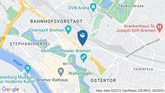 Aparthotel Adagio Bremen Map