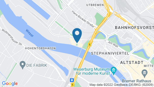 Steigenberger Hotel Bremen Map