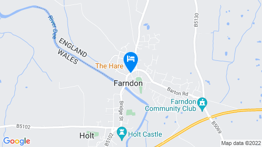 The Farndon Arms Map
