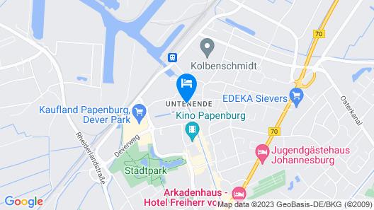 Park Inn by Radisson Papenburg Map