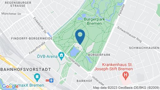 Parkhotel Bremen – ein Mitglied der Hommage Luxury Hotels Collection Map